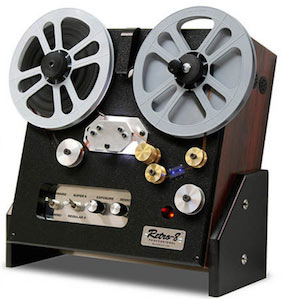 FilmScan - Regular and Super 8mm cine film transfers to